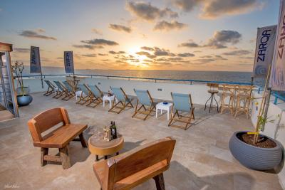 נוף פנורמי לים התיכון