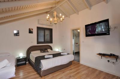 חדר שינה אינטימי