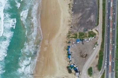 צימרים בצפון - קרוואן על החוף
