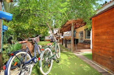 אופניים לשימוש המתארחים