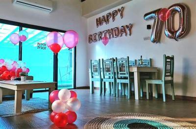 קישוטי יום הולדת